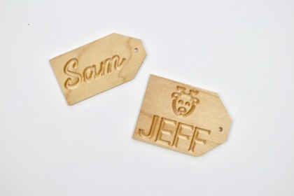 Gift tags sam jeff