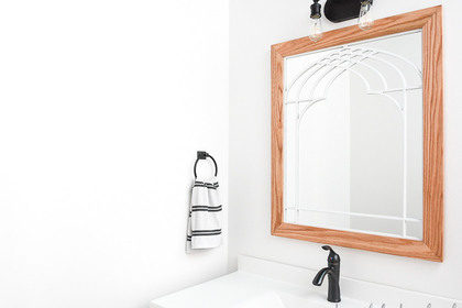 1564426587 diy window frame mirror 5