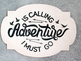 Adventure sign 1
