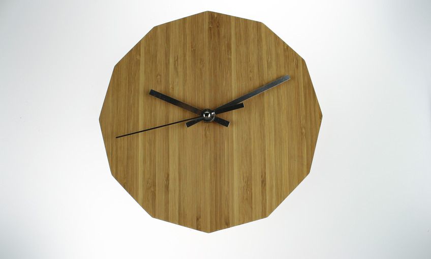1384217748 dodecagon clock 10in