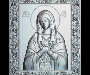 1527482039 icon of the mother of god tenderness 3d model for cnc stl format religion 3d relief.jpg 640x640