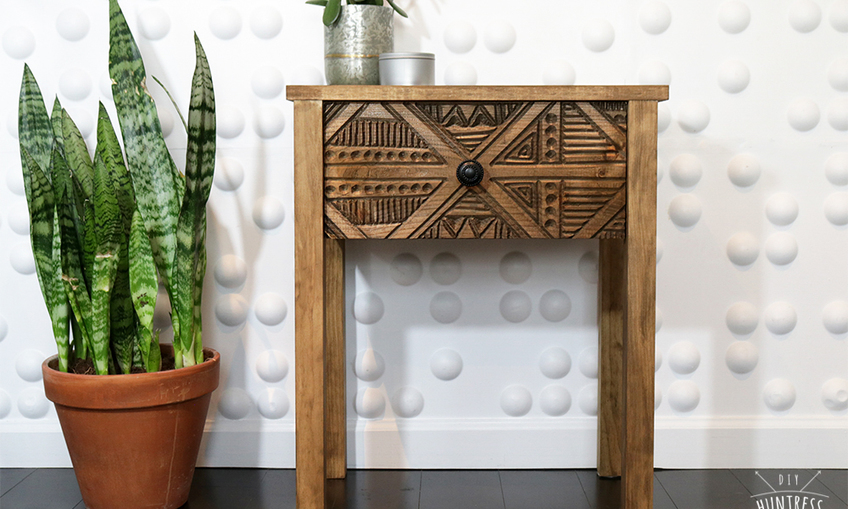 1528248573 diy wood carved side table 0