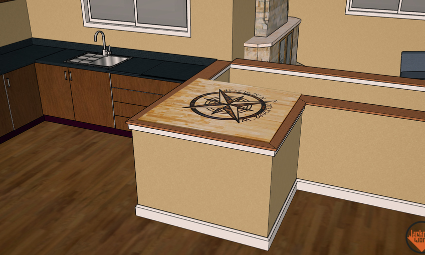 1528402310 epoxy inlay and weathered butcher block countertops 35
