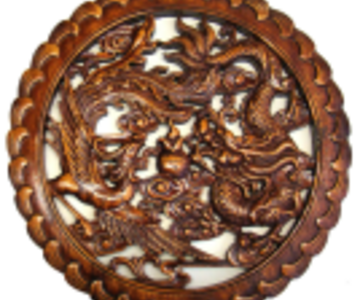 1529117836 carved chinese wood plaque dragon phoenix