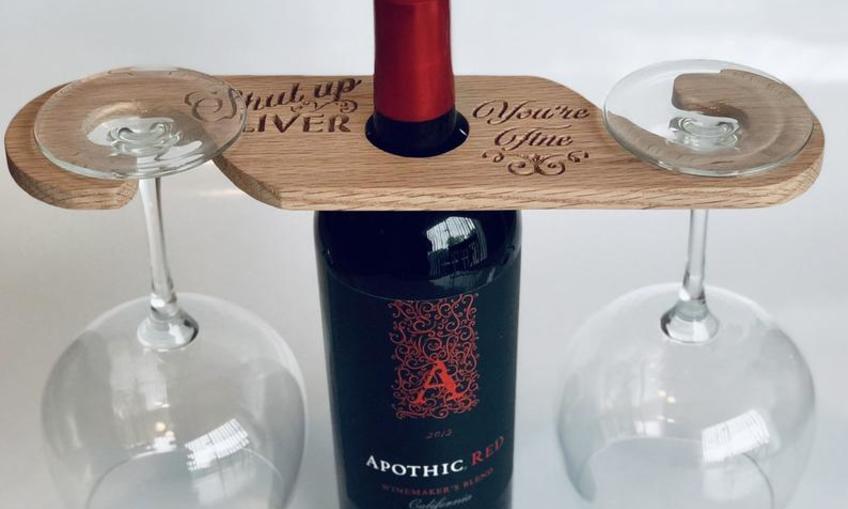 Copy Of Wine Caddy Inventables
