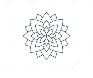 1571167700 thin line lotus flower life sacred geometry mandala ornament esoteric spiritual symbol isolated white background vector 111233815 %281%29
