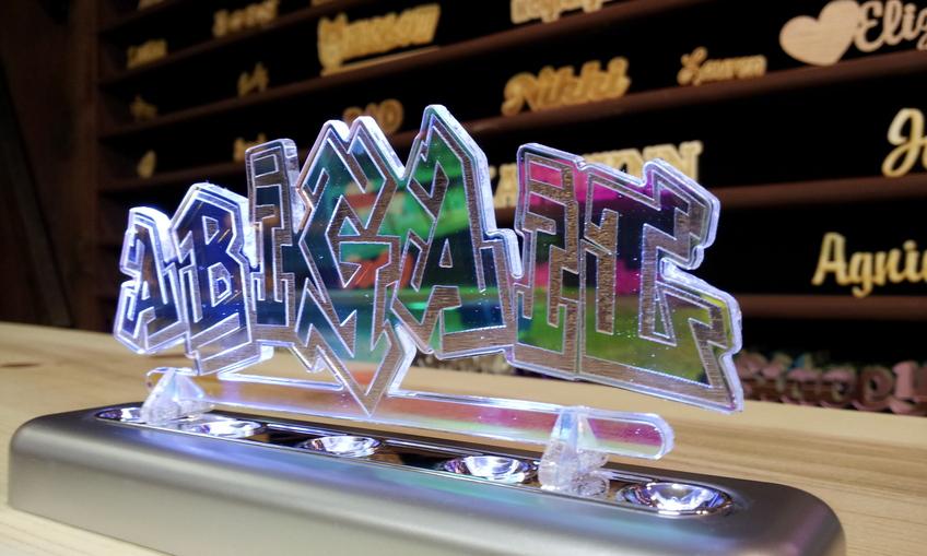 Radiant acrylic name for Radiant plexiglass