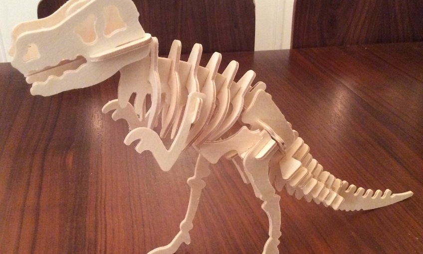 Remake Of T Rex Skeleton