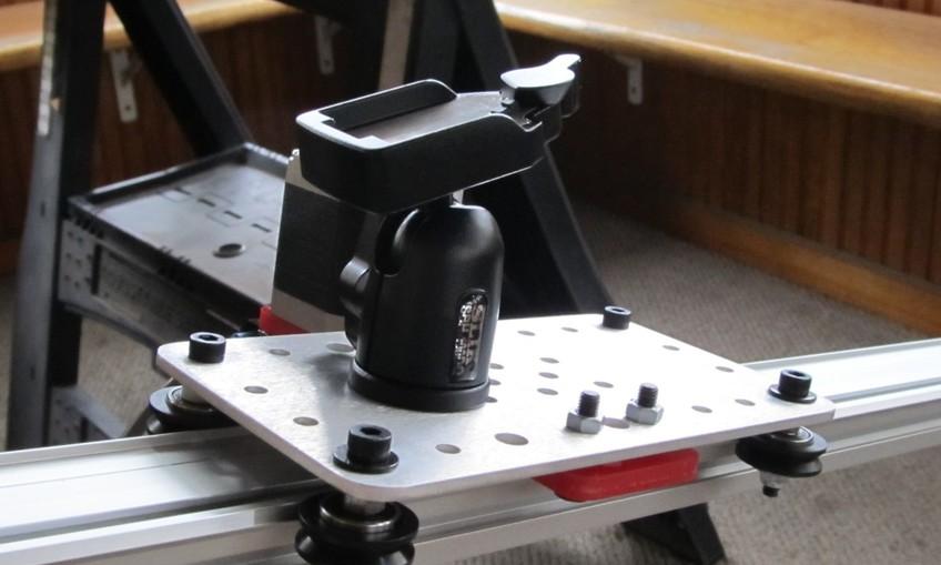 Simple camera slider for Stepper motor camera slider