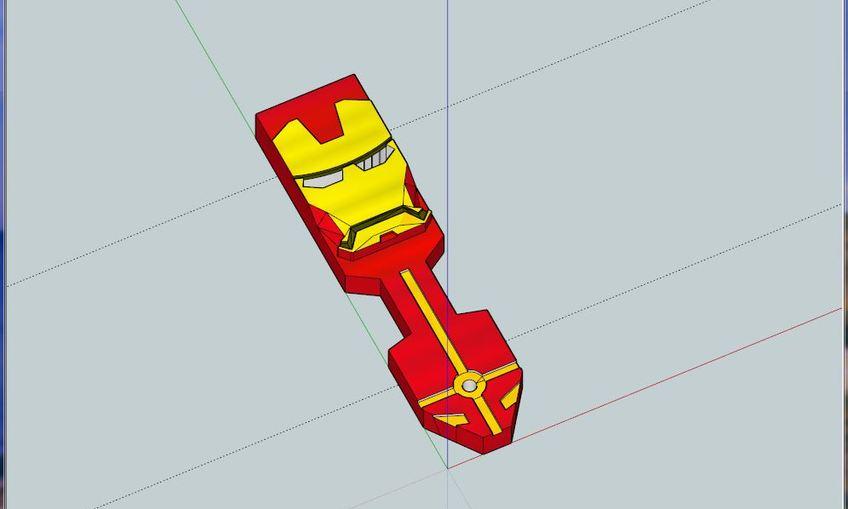 1453591800 ironman8 sketchup model