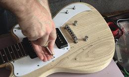 Guitar build 21