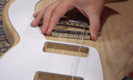 Guitar build 18