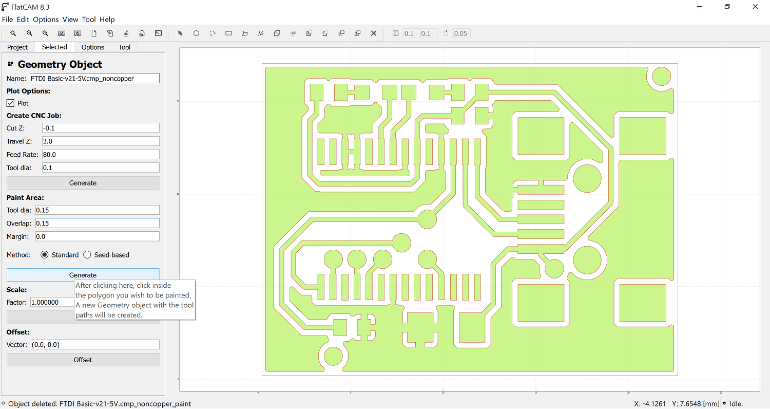 Pcb Milling On X Carve For A Minute Say You Have To Create Circuit Board Of Some Sort Flatcam2