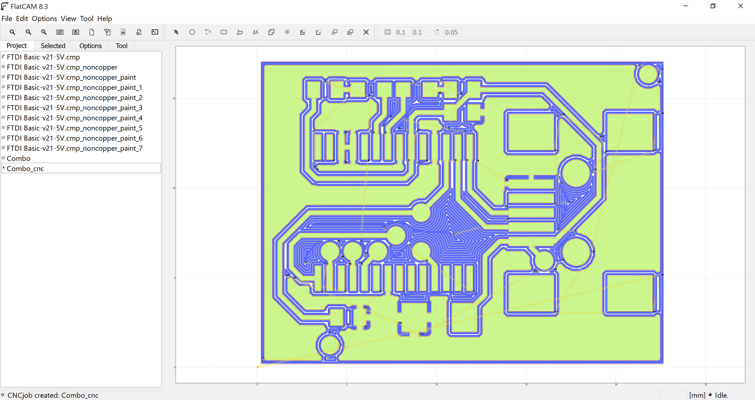 Pcb Milling On X Carve For A Minute Say You Have To Create Circuit Board Of Some Sort Flatcam6