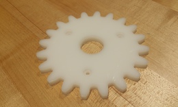 Step 2   carve small gears