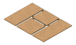 T shirt folding board