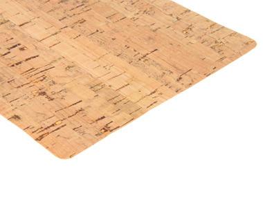 Natural Cork Fabric - Linear Pattern