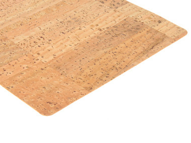 Natural Cork Fabric - Rustic Pattern