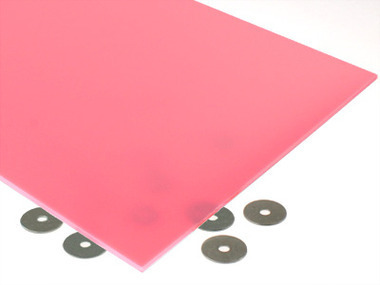 Bubble Gum Pink Acrylic Sheet