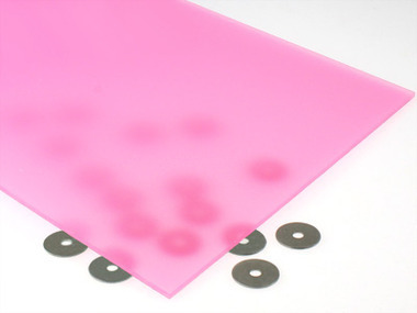 Pink Passion Fruit Acrylic Sheet