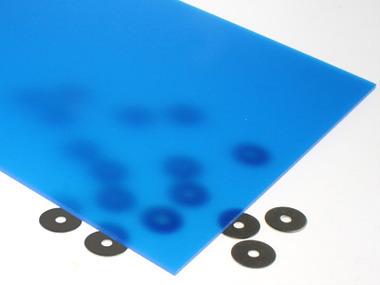 Translucent Blue Acrylic Sheet