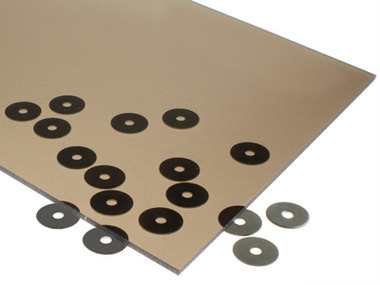 Transparent Medium Bronze Acrylic Sheet