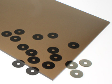 Transparent Dark Bronze Acrylic Sheet