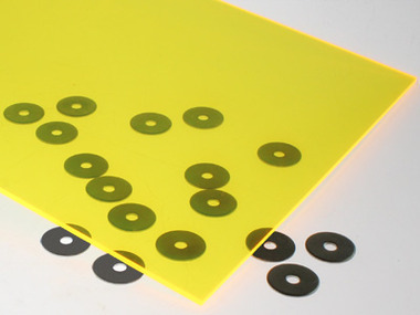 Fluorescent Yellow Acrylic Sheet