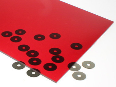 Transparent Red Acrylic Sheet Inventables