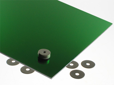 Green Mirrored Acrylic Sheet