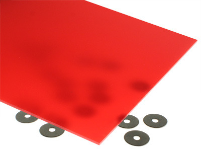 Translucent Red Acrylic Sheet