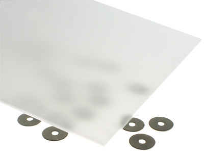 31% Light Transmission White Acrylic Sheet