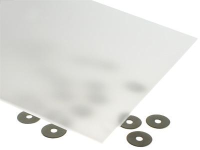 31% Light Transmission White Acrylic Sheet