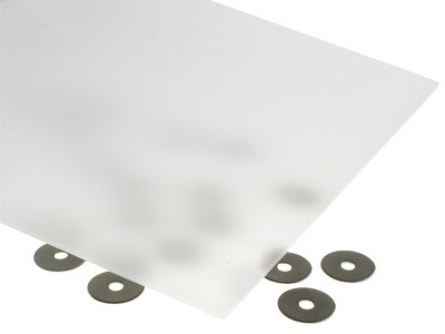 40% Light Transmission White Acrylic Sheet