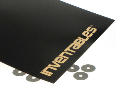 Gloss Black on Gold Laserable Acrylic Sheet