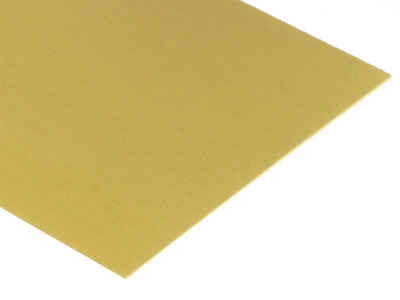 Gold Anodized Aluminum Sheets