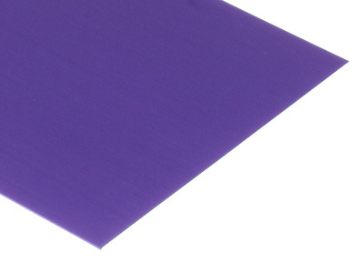 Purple Anodized Aluminum Sheets