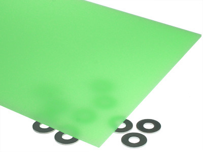 Neon Green Acrylic Sheet