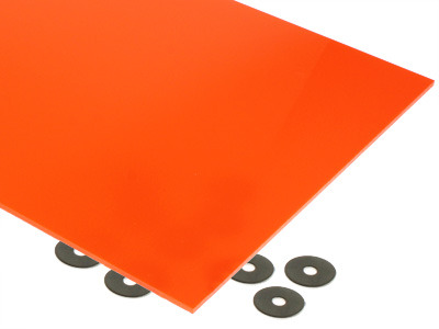 Orange Acrylic Sheet