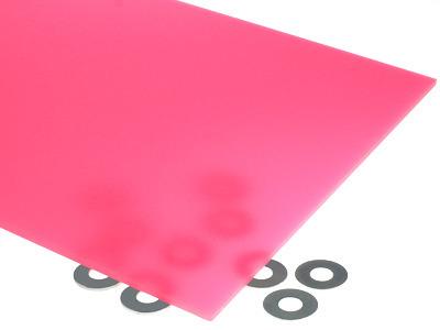 Neon Pink Acrylic Sheet