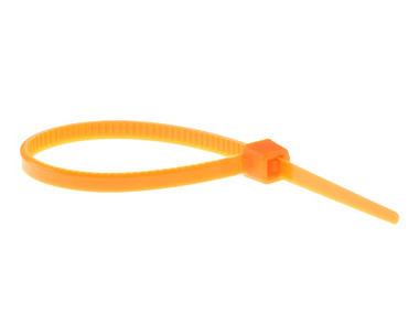 Orange Cable Tie