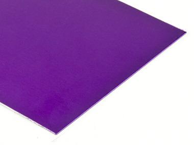 Magenta Anodized Aluminum Sheets