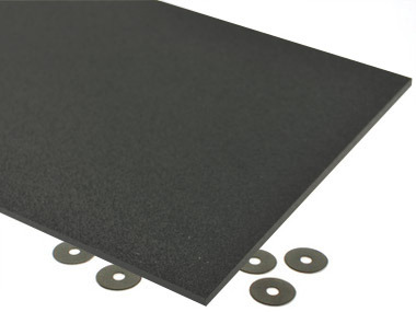 Black ABS Plastic Sheet