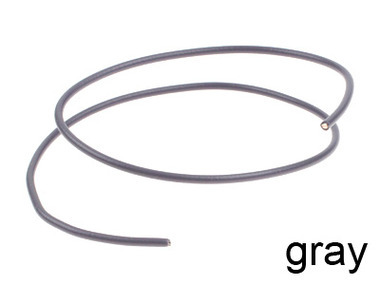 Gray Hookup Wire