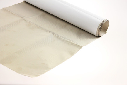 Flame retardant fabric with hot melt adhesive