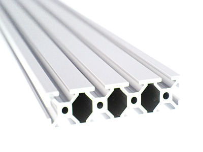 Aluminum Extrusion (20mm x 80mm) - Clear