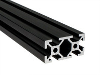 Aluminum Extrusion (20mm x 40mm) - Black