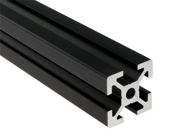 Aluminum Extrusion (20mm x 20mm) - Black