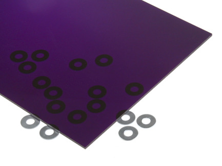 Transparent Purple Acrylic Sheet