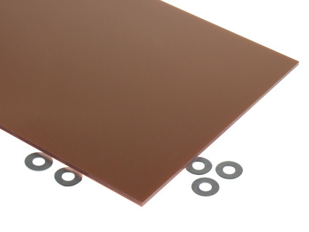 Copper Metallic Acrylic Sheet